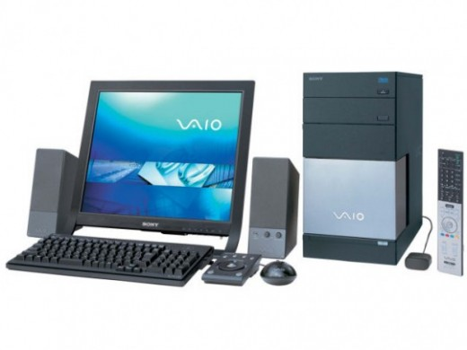 SONY VAIO VGC-RC52