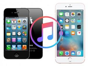 iPhone4s-iPhone6s-iTunes