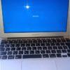 MacBookAir BootCamp Windows10がお待ち下さいと表示され起動しない