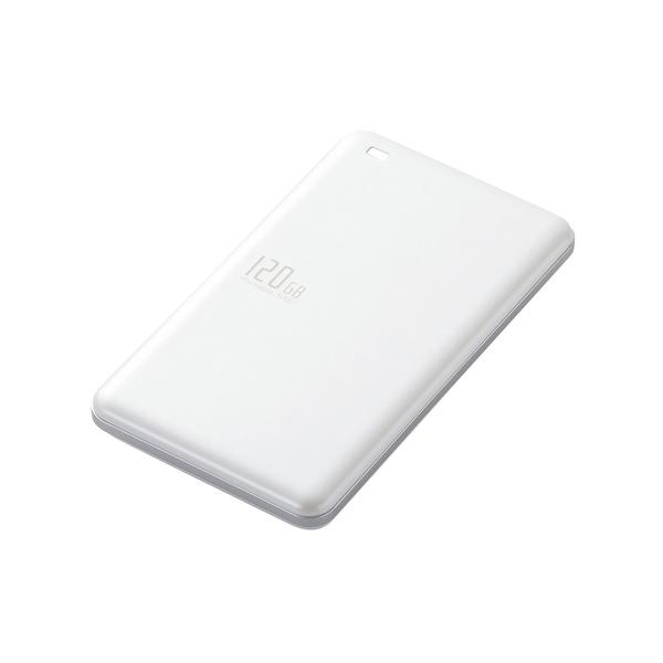 ELECOM USB SSD ESD-EA0120GWH